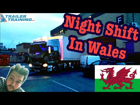 Night Shift In Wales 🏴