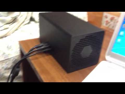 Butterfly Labs 50G Miner Running