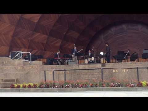 BC High Jazz/Rock Ensemble Hatch Shell Performance 2016