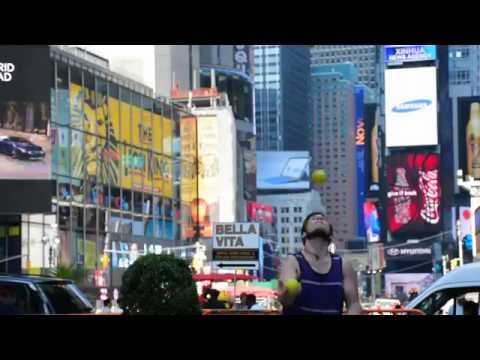Inclined- Kyle Johnson Juggling in NYC