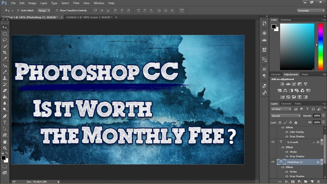 Photoshop CC: Is it Worth the Monthly Fee?   TheHighTechHobbyist