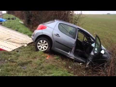 Accident mortel entre Cholet et Bressuire