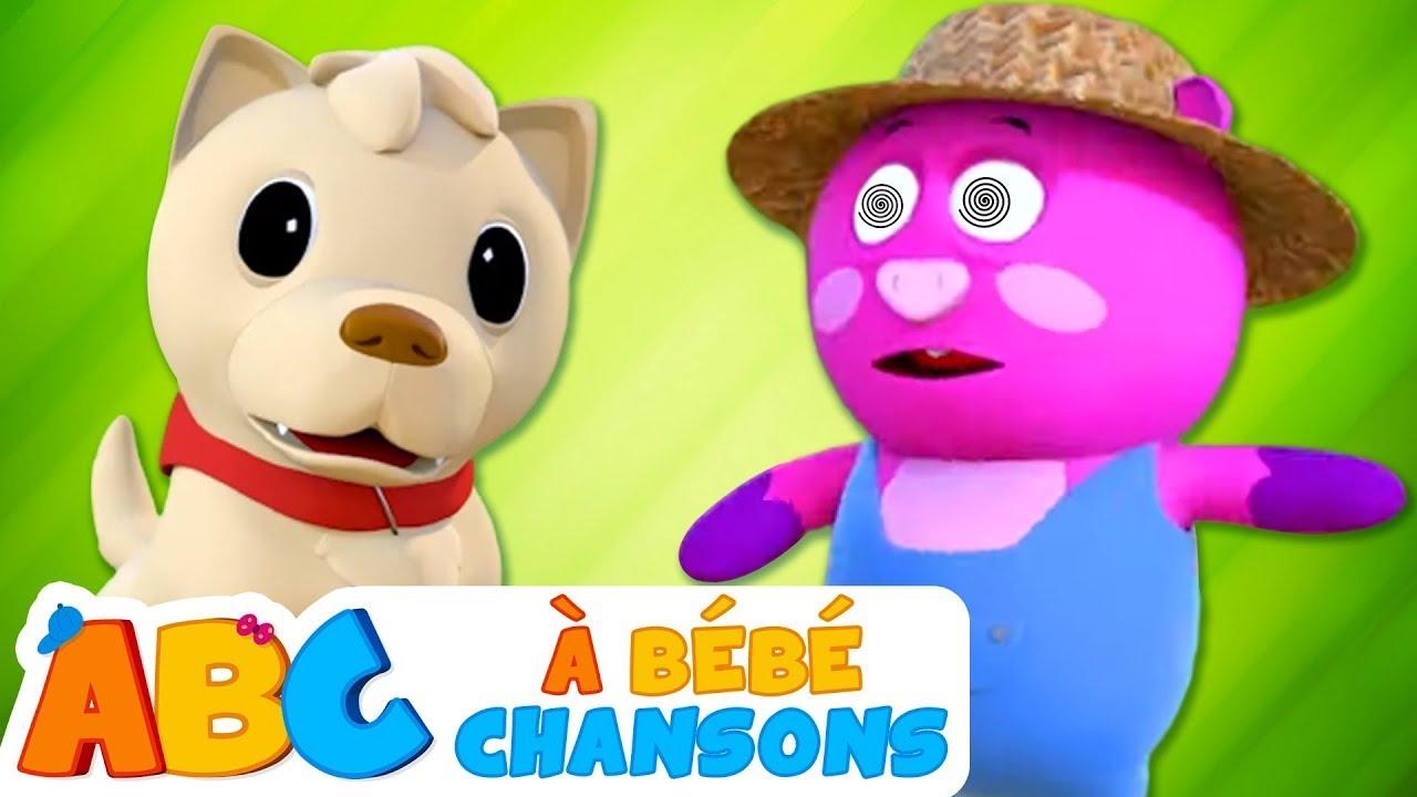 Bingo le chien fait des bêtises | Comptines pour Enfants | À Bébé Chanson