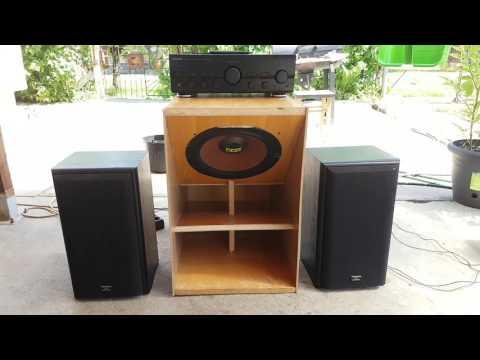 2.1 Sound system Larger version! /házi készítésű 2.1 es hangfal rendszer/