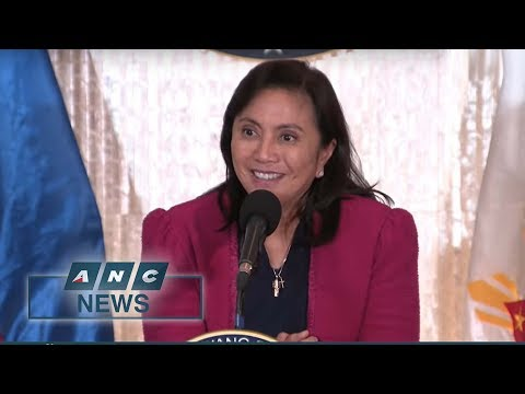 PH Vice President Robredo seeks higher budget for war on drugs | ANC News