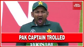 Yawning Pak Skipper, Sarfaraz Ahmed Trolled After Heavy Defeat To India
