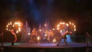 Samsara Firedancers 2014 IAAPA Brass Ring Awards Live Entertainment Excellence