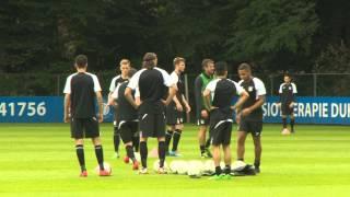 N.E.C. Eerste training seizoen 2014-2015