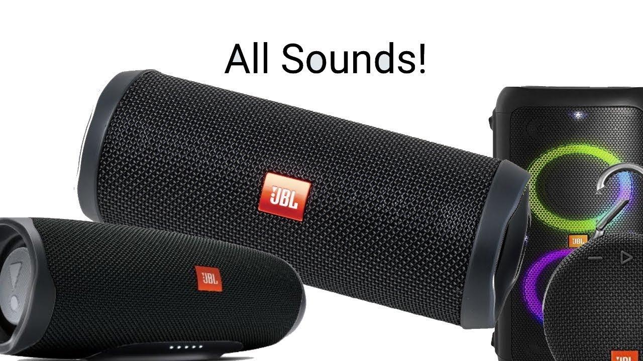 JBL 2018 sound dump (Flip 4, Charge 3 & 4, JBL Xtreme 2 etc )