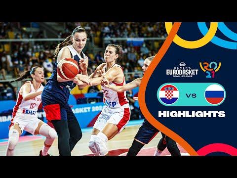 Croatia - Russia | Highlights - FIBA Women's EuroBasket 2021