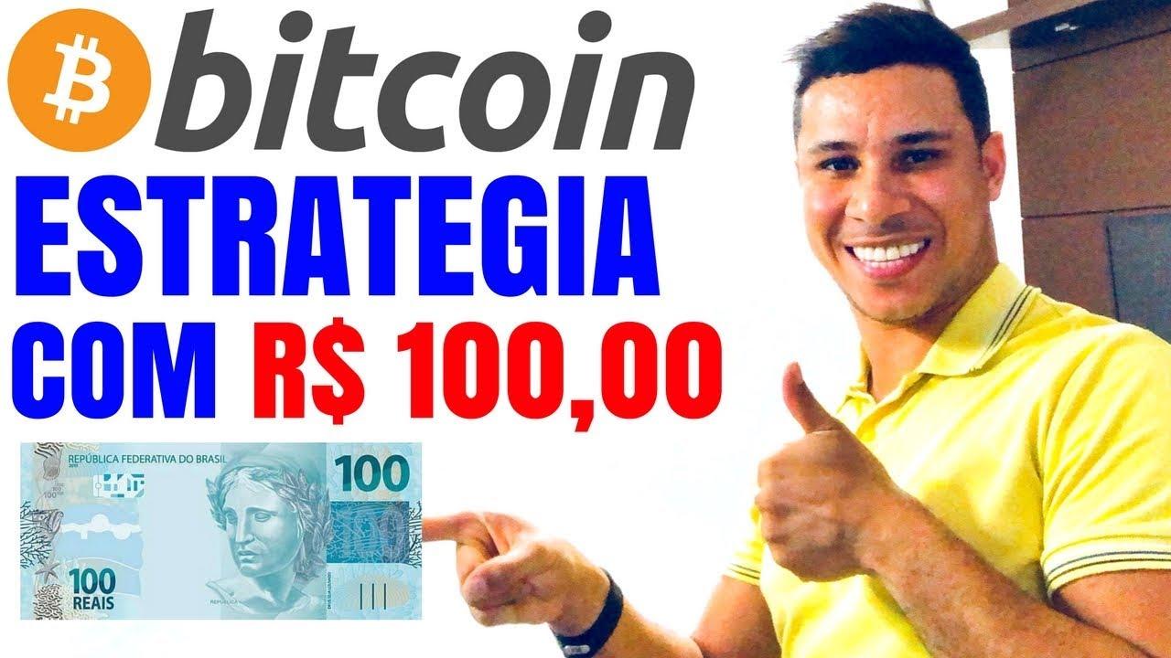 Resultado de imagem para Aula gratuita - Estratégia com 100 reais bitcoin