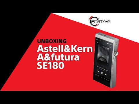 Astell&Kern A&futura SE180 Unboxing   Porta-Fi™