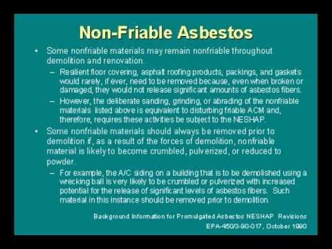 Asbestos Workshop - DOLI Presentation