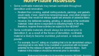 Asbestos Workshop - DOLI Presentation