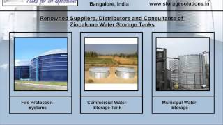 Zincalume Water Storage Tank - Zincalume Steel Panel - Water Storage Tanks In Bangalore