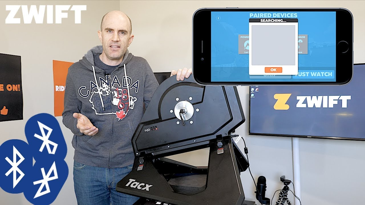 Swift Zwift Tip: Pairing Bluetooth Devices in a Multi-User Environment
