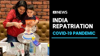 5 year old boy among those left behind on repatriation flights from India | ABC News