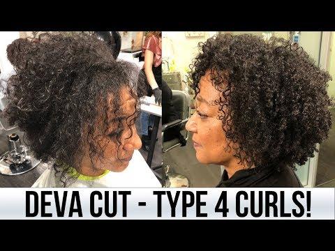 Deva Cut On Type 4 Curls! Curls One On One Salon | BiancaReneeToday