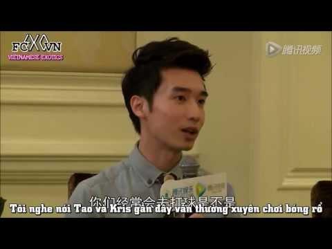 [Vietsub] 130607 EXO @ Tencent Celebrity Interview Part 2/2 [Ếch ộp Subteam]