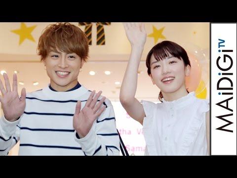 白濱亜嵐、「3年間ずっと恋してました」 永野芽郁と初恋エピソード告白 映画「ひるなかの流星」×「Samantha Vega」コラボイベント1