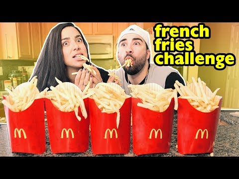 1,000 FRENCH FRY CHALLENGE!