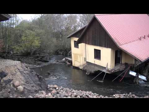 Brande Elværk 24- 11- 2011/10 -11-2013 brud på dæmnimg