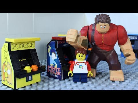 LEGO WRECK IT RALPH ARCADE