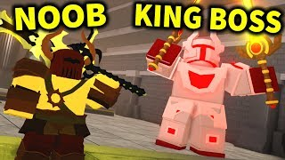 I DEFEATED ALL BOSSES on *NEW* KING'S CASTLE in Dungeon Quest!! (Roblox)