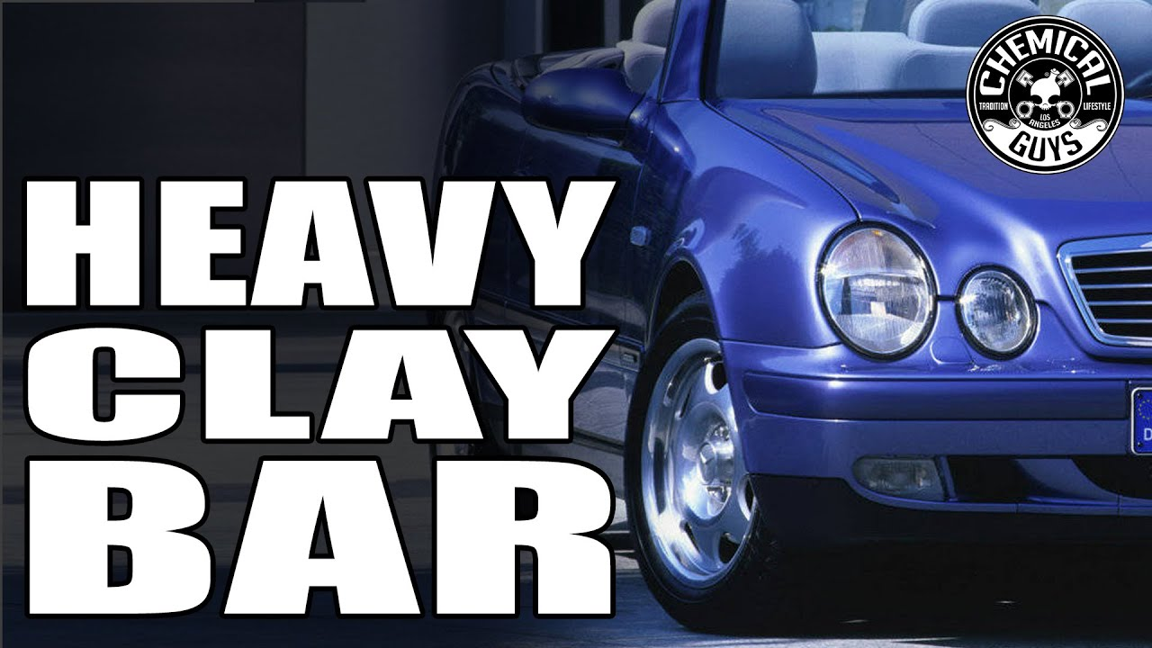 How To Remove Heavy Contamination - Black Clay Bar - Chemical Guys