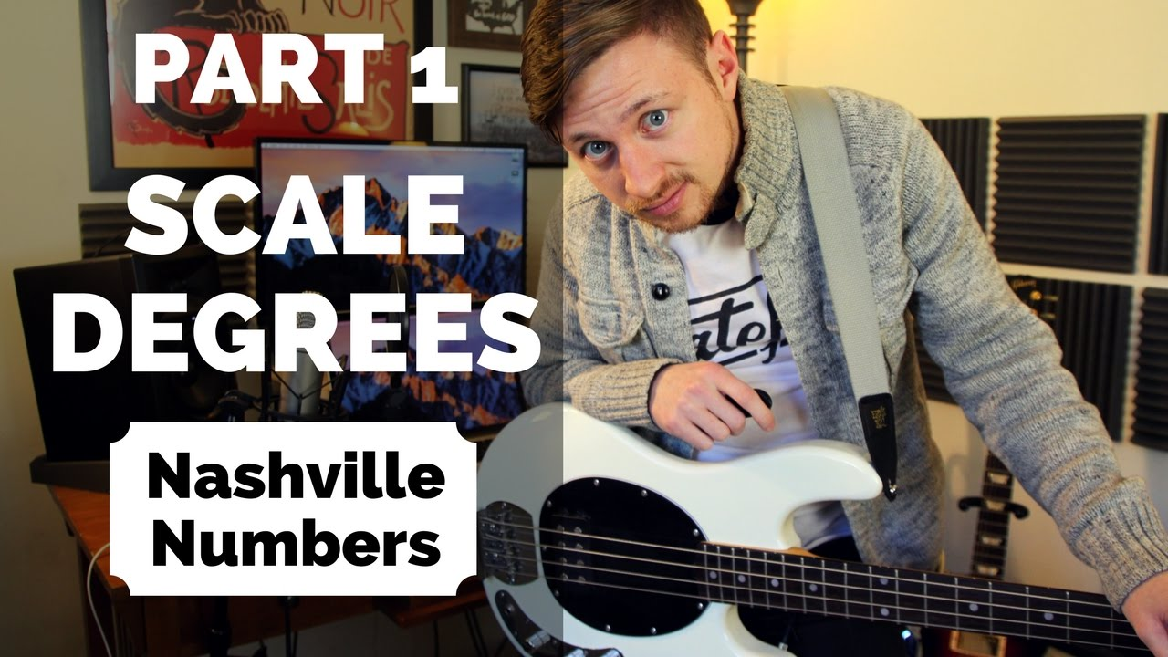 part scale degrees nashville number system explained part 1 scale degrees nashville number system explained