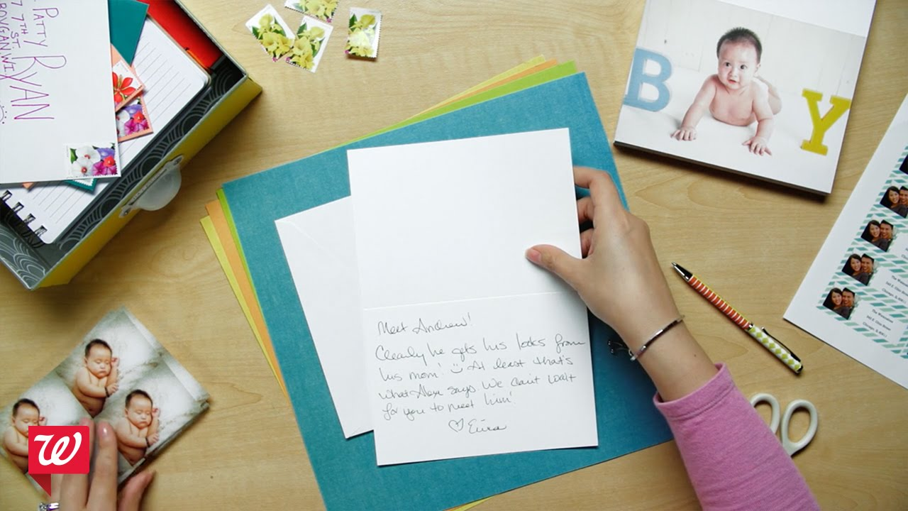Create Customized Cards At Walgreens Youtube