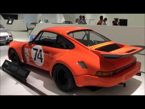 Porsche Museum in Frankfurt, Germany