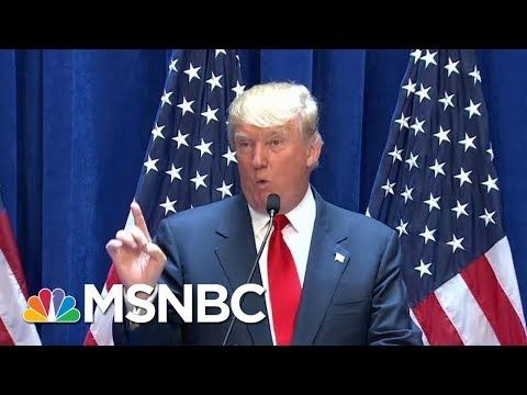 President Trump Contradicts His Chief Of Staff Over Mexico Border Wall | Velshi & Ruhle | MSNBC