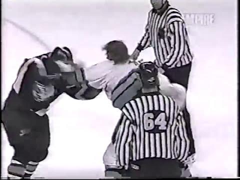 Marty McSorley vs Rob Ray