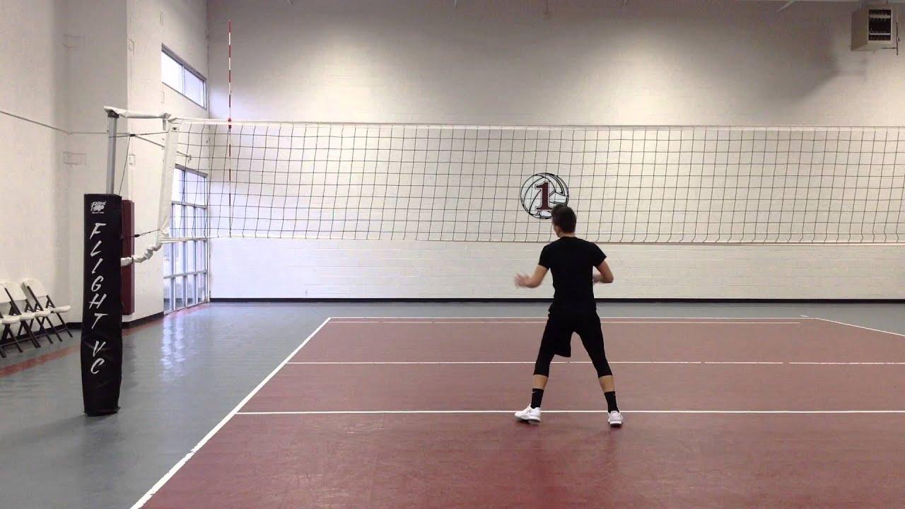 David Miechowicki Skills Video   2017 Outside Hitter Club 1 VBC