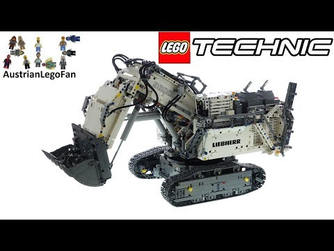 LEGO Technic 42100 Liebherr R9800 - Lego Speed Build Review