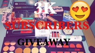 3K SUBSCRIBERS GIVEAWAY: CLOSED