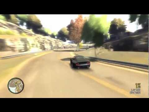 Grand Theft Auto 4 Multiplayer Race – Duck and Weave