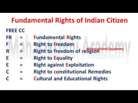 Best Tricks to learn fundamental right by kkmic