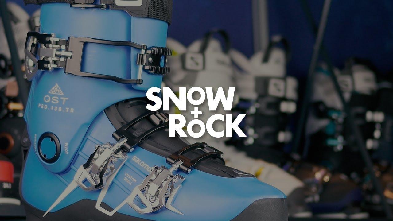 f1c8059227 Salomon QST Pro 130 TR 2018 Ski Boot Overview by Snow+Rock - YouTube