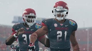 Dre Moss 97 Yard Touchdown in the Liberty Bowl!!! NCAA FOOTBALL 14 RTG RB