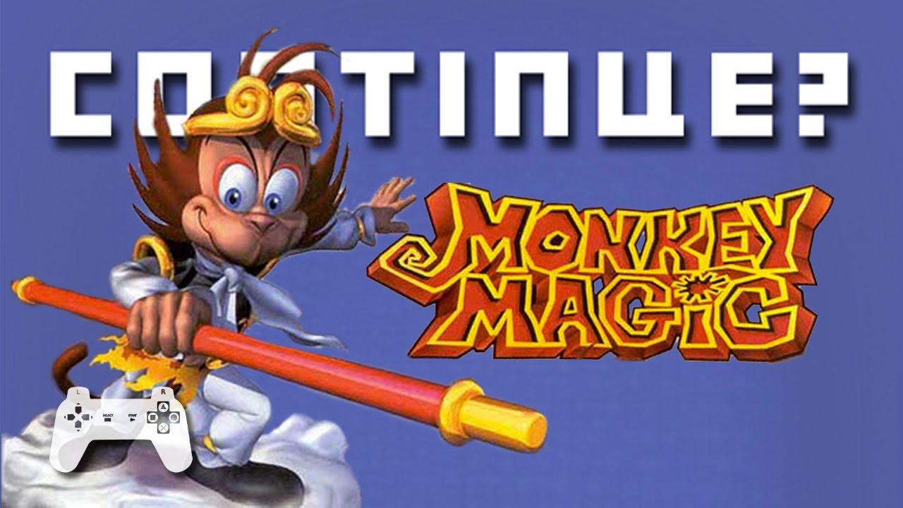 Monkey Magic Playstation 1 Continue Youtube