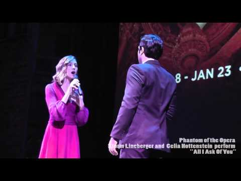 Phantom of the Opera Toronto - Mirvish Theatre Press Launch