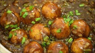 Veg Manchurian Dry Recipe - Chinese starter Veg Manchurian Recipe - Dry Manchurian Recipe in Hindi