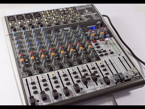42051 behringer xenyx x1622usb mint 16 channel live sound mixer board w usb fx eq youtube. Black Bedroom Furniture Sets. Home Design Ideas