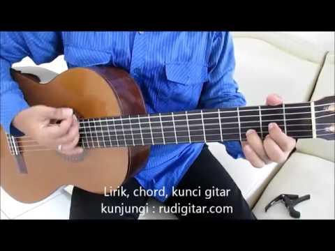 Belajar Kunci Gitar The Rain feat. Endank Soekamti Terlatih Patah Hati Strumming