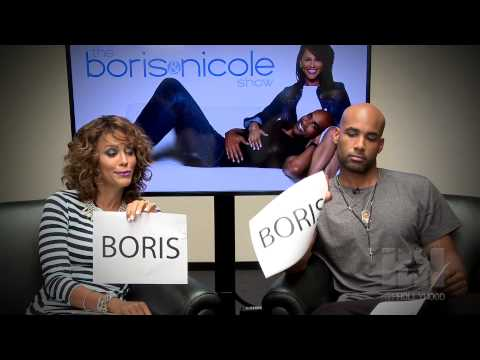 The Not So Newlywed Game With Boris Kodjoe & Nicole Ari Parker  HipHollywood.com