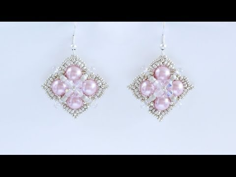 TheHeartBeading: Be Mine Earrings Tutorial (no sound)