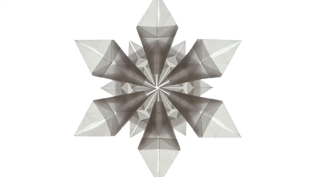 origami snowflake jo nakashima youtube