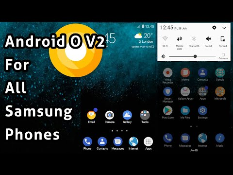 [V2]Android Oreo Theme | For All Samsung Devices